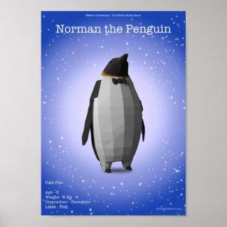 Normando el pingüino posters