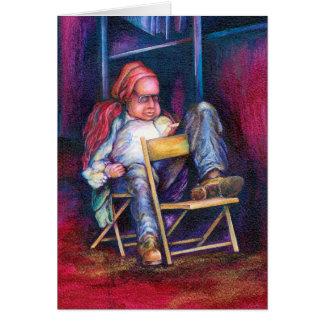 Normando Perfers a dibujar en su sueño Tarjeta De Felicitación