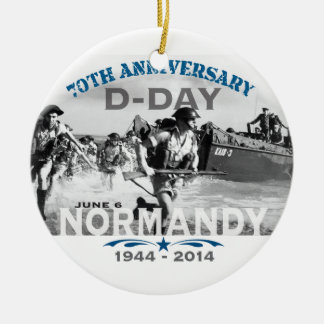 Normandy 70th D-Day Anniversary Christmas Ornaments