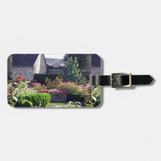 Normandy auberge garden custom luggage tags
