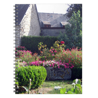 Normandy Auberge Garden Notebook Template