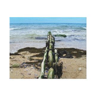 Normandy Beach Canvas Print