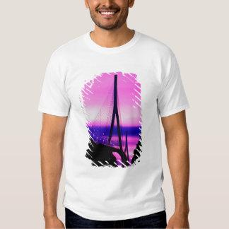 Normandy Bridge, Le Havre, France 2 T-Shirt