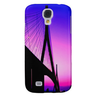 Normandy Bridge, Le Havre, France Galaxy S4 Case