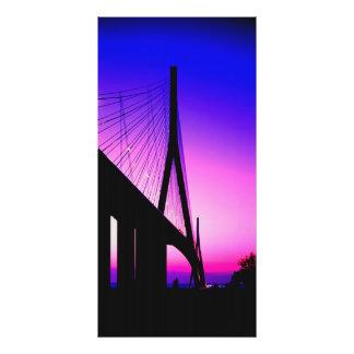 Normandy Bridge, Le Havre, France Photo Print