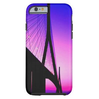 Normandy Bridge, Le Havre, France Tough iPhone 6 Case