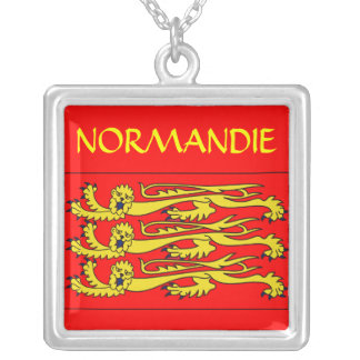 Normandy collar silver plated necklace