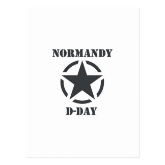 Normandy D-Day Postcard