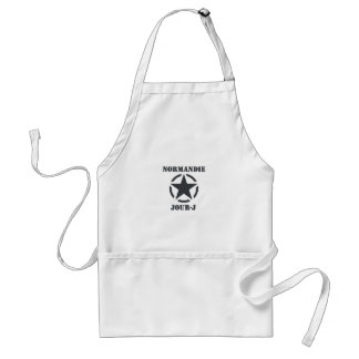 Normandy Day-J Adult Apron