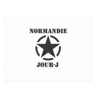 Normandy Day-J Postcard