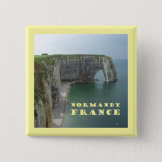 Normandy France Button