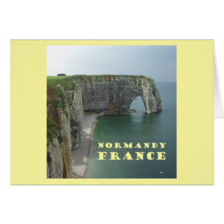 Normandy France Card