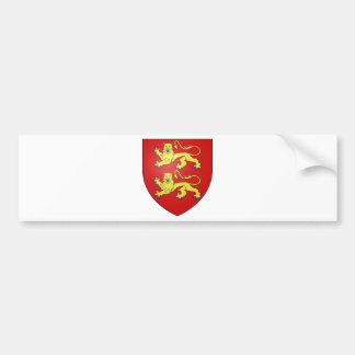 Normandy (France) Coat of Arms Bumper Sticker
