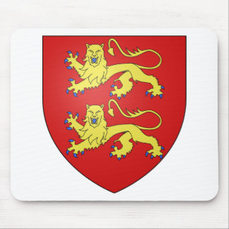Normandy (France) Coat of Arms Mouse Pad