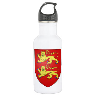 Normandy (France) Coat of Arms Stainless Steel Water Bottle