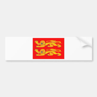 Normandy (France) Flag Bumper Sticker
