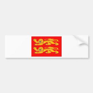 Normandy (France) Flag Car Bumper Sticker