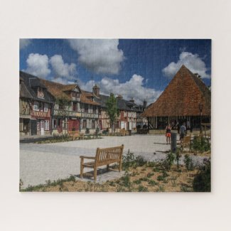 Normandy France Jigsaw Puzzle - Beuvron en Auge