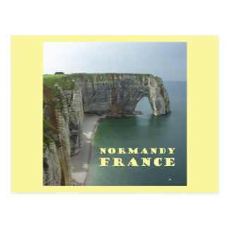 Normandy France Postcard