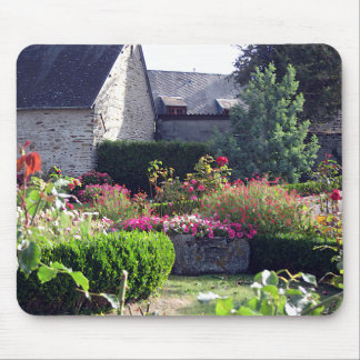 Normandy Garden Auberge Mouse Pad