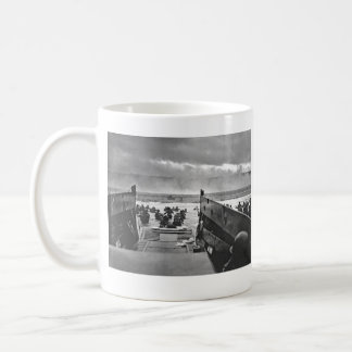 Normandy Invasion at D-Day - 1944 Classic White Coffee Mug