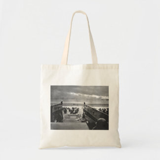 Normandy Invasion at D-Day - 1944 Tote Bag