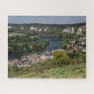 Normandy Jigsaw Puzzle - Les Andelys Seine River