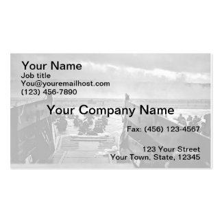 Normandy Landing Business Card