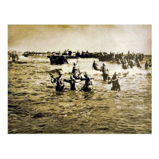 Normandy Landings Postcard