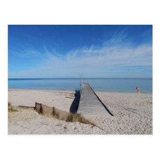 Normanville Beach, South Australia Postcard