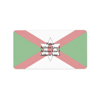 Norn Iron flag Label