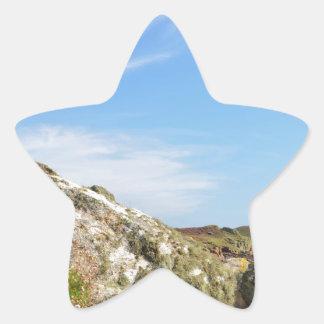 Nornour en las islas de Scilly Pegatina En Forma De Estrella