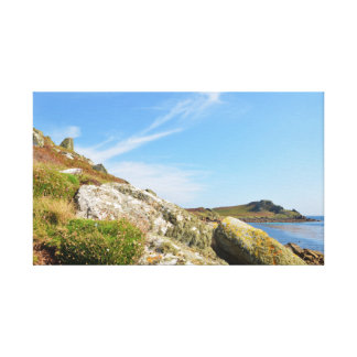 Nornour In The Isles Of Scilly Canvas Print