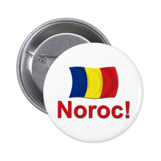 Noroc! (Cheers) Pinback Button
