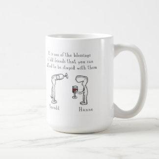 Norodd and Hanne Classic White Coffee Mug