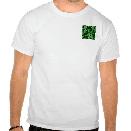 Noroeste pacífico, Oregon y Washington Camisetas