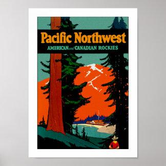 Noroeste pacífico impresiones
