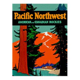 Noroeste pacífico tarjeta postal