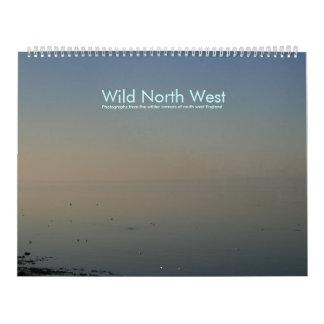 Noroeste salvaje calendario de pared
