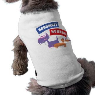Noromney, nobama! pet tee shirt