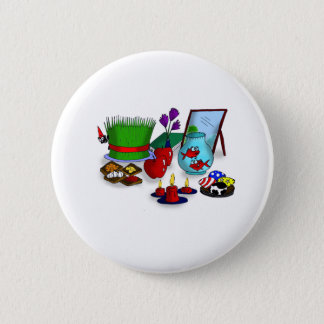 Norooz Cartoon Button