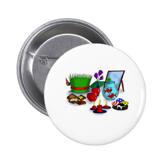 Norooz Cartoon Buttons