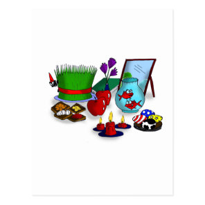 Norooz Cartoon Postcard