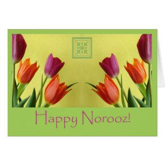 Norooz feliz, Año Nuevo persa Tarjeta De Felicitación