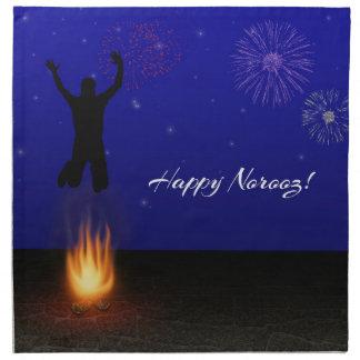 Norooz feliz Chahar-Shanbeh-Suri - servilleta