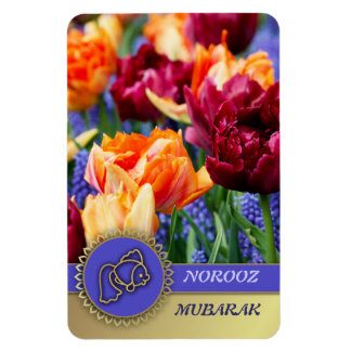 Norooz  Mubarak. Persian New Year Gift Magnets