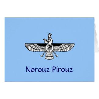 Norouz Pirouz Greeting Card