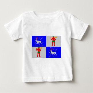 Norrbottens län flag shirts