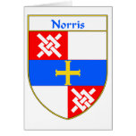 Norris Coat of Arms/Family Crest Cards