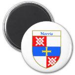 Norris Coat of Arms/Family Crest Fridge Magnets